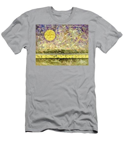 Golden Moon I Men's T-Shirt (Athletic Fit)