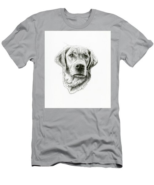Golden Retriever Bliss Men's T-Shirt (Athletic Fit)