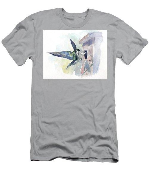 Golden Swallow Men's T-Shirt (Athletic Fit)