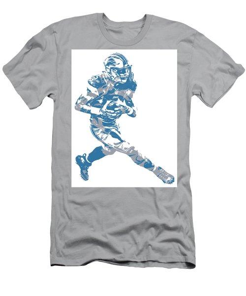 Golden Tate Detroit Lions Pixel Art 2 Men's T-Shirt (Athletic Fit)