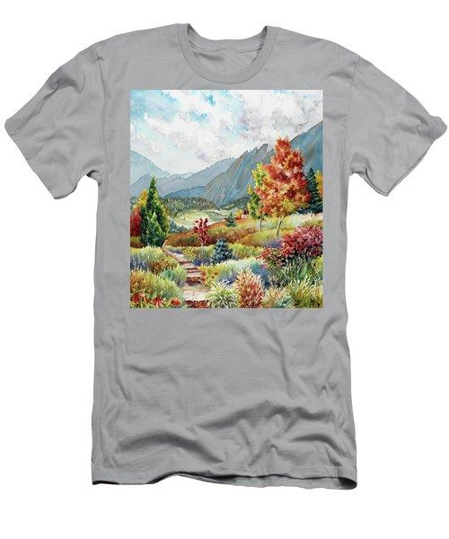 Golden Trail Men's T-Shirt (Athletic Fit)
