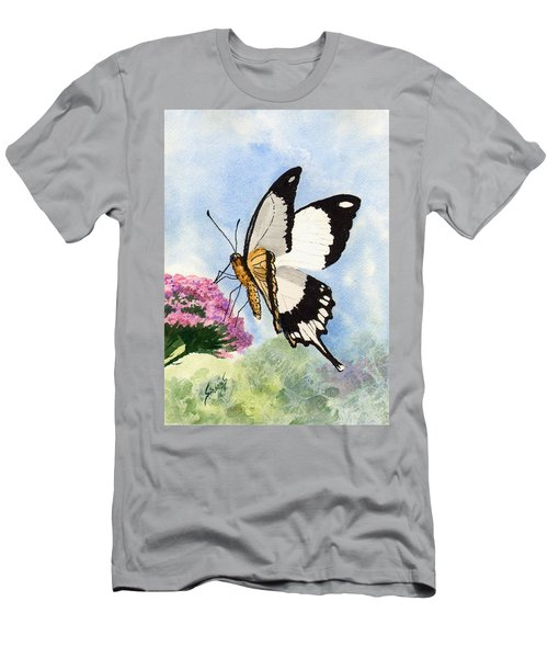 Men's T-Shirt (Athletic Fit) featuring the painting Goldie by Sam Sidders