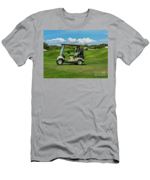 Golf Cart Men's T-Shirt (Athletic Fit)