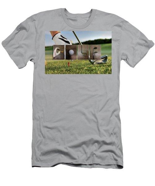 Golf Men's T-Shirt (Athletic Fit)
