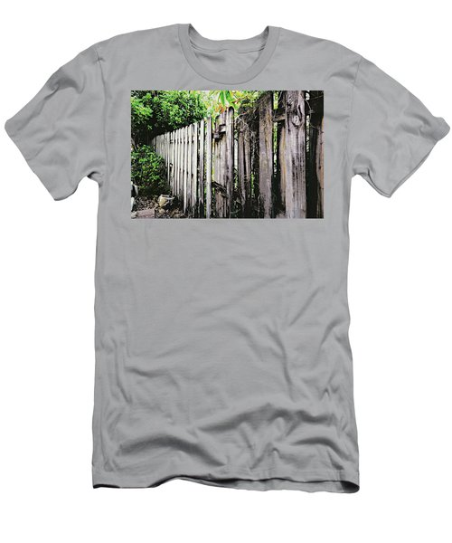 Good Fences, Good Neighbors Men's T-Shirt (Athletic Fit)