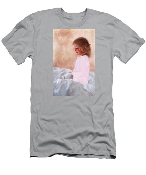 Good Morning Bunnie Men's T-Shirt (Slim Fit) by Colleen Taylor