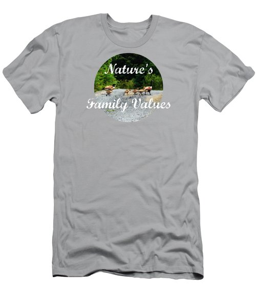 Goose Family Men's T-Shirt (Athletic Fit)