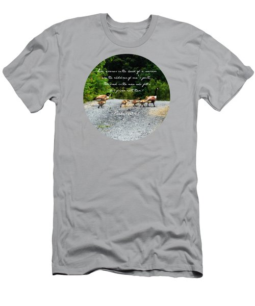 Goose Family - Verse Men's T-Shirt (Athletic Fit)