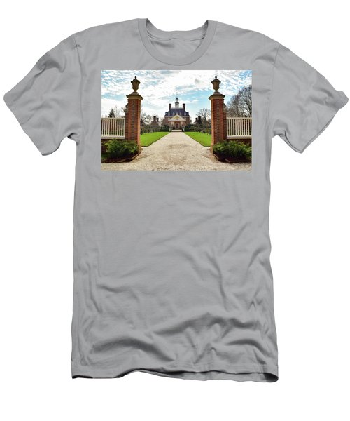 Governor's Palace In Williamsburg, Virginia Men's T-Shirt (Athletic Fit)