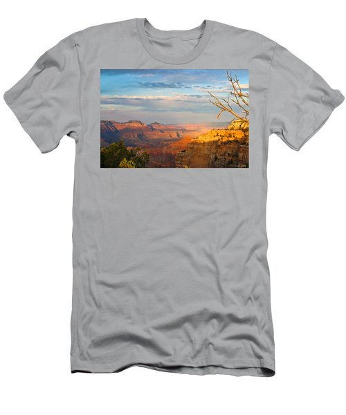 Grand Canyon Splendor Men's T-Shirt (Athletic Fit)