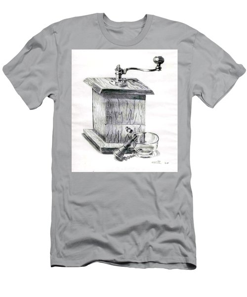 Grandma's Coffee Grinder Men's T-Shirt (Athletic Fit)