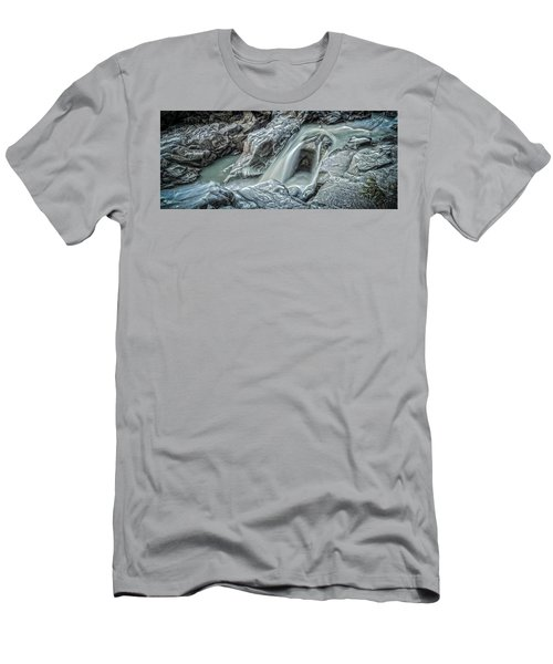 Granite Falls Blues Men's T-Shirt (Slim Fit) by Tony Locke