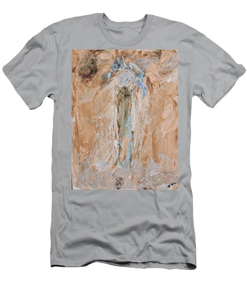 Granny Angel Men's T-Shirt (Athletic Fit)