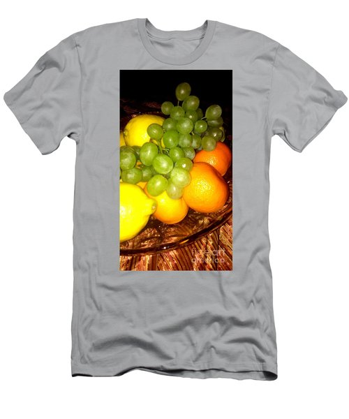 Grapes, Mandarins, Lemons Men's T-Shirt (Athletic Fit)