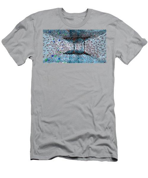 Graphene Oxide Nanotech Framework Men's T-Shirt (Athletic Fit)