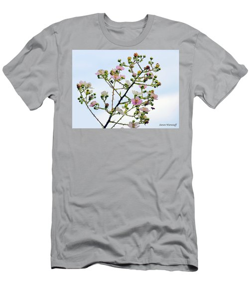Grasping For The Hands Of Heaven Men's T-Shirt (Slim Fit) by Steve Warnstaff
