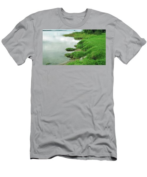 Grass And Water Men's T-Shirt (Athletic Fit)