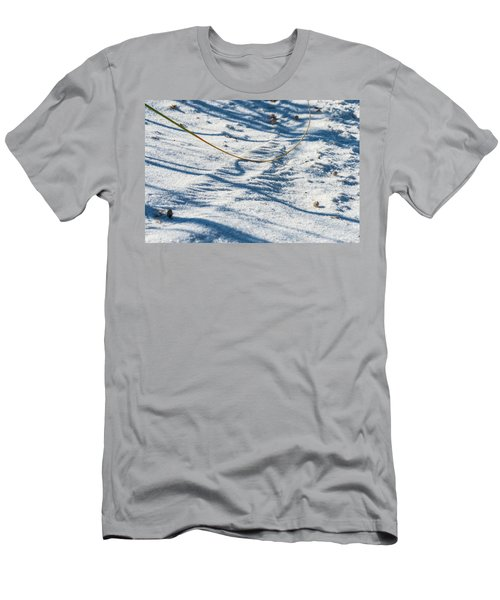 Grass Scapes In The Sand Men's T-Shirt (Athletic Fit)