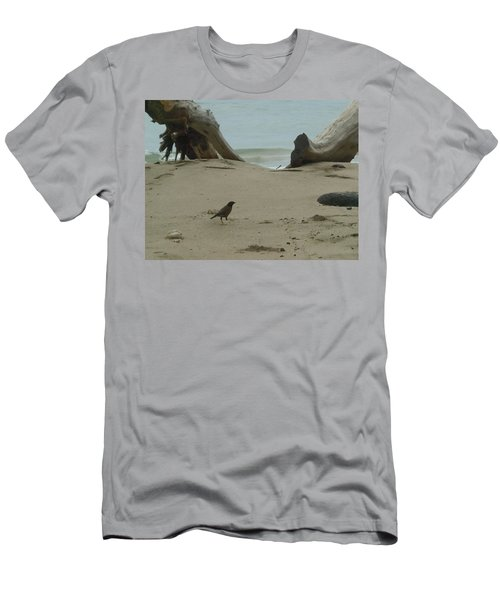 Gray Day On Maui Men's T-Shirt (Athletic Fit)