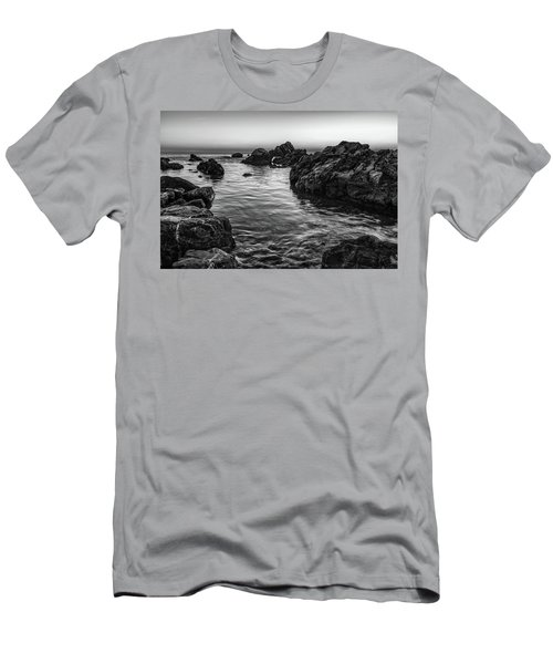 Gray Waters Men's T-Shirt (Athletic Fit)