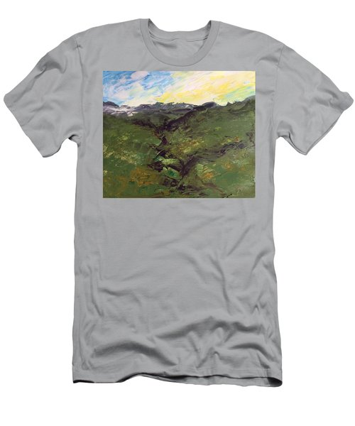 Grazing Hills Men's T-Shirt (Athletic Fit)