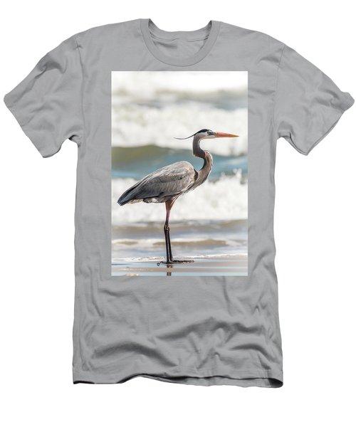 Great Blue Heron Profile Men's T-Shirt (Athletic Fit)