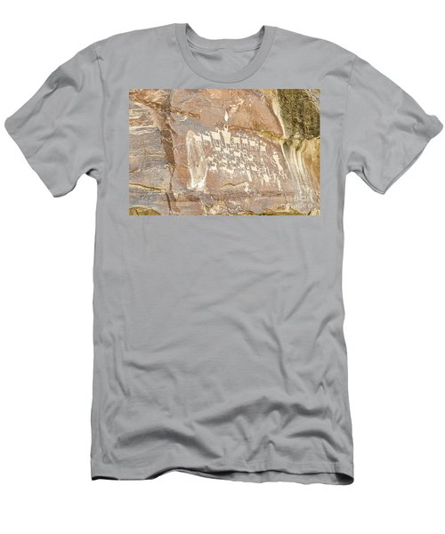 Men's T-Shirt (Athletic Fit) featuring the photograph Great Hunt Panel by Sue Smith