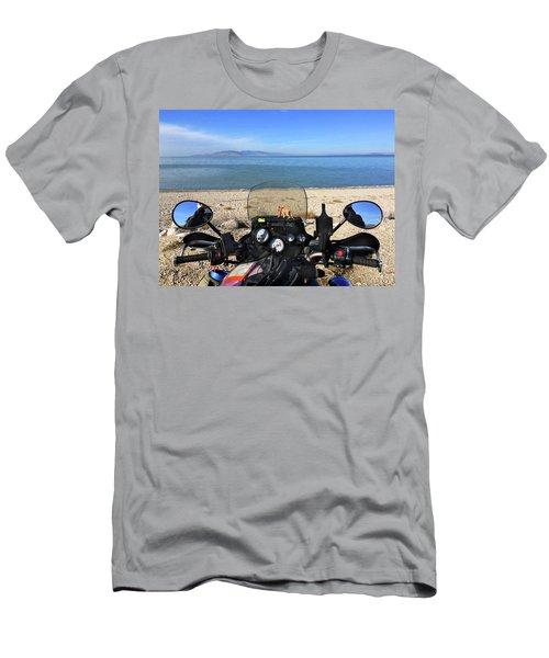 Great Salt Lake From Antelope Island Men's T-Shirt (Athletic Fit)
