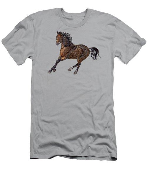 Grecian Horse Men's T-Shirt (Athletic Fit)