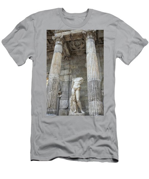 Men's T-Shirt (Slim Fit) featuring the photograph Greek Statue by Patricia Hofmeester