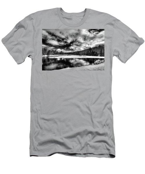 Men's T-Shirt (Slim Fit) featuring the photograph Green Bridge Solitude by David Patterson