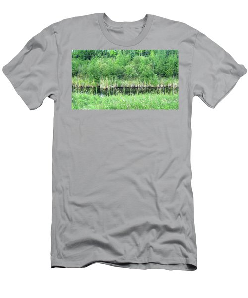 Green Grass Black Water Men's T-Shirt (Athletic Fit)