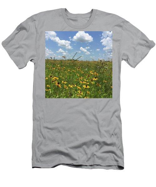 Greener Pastures In Heaven Men's T-Shirt (Athletic Fit)