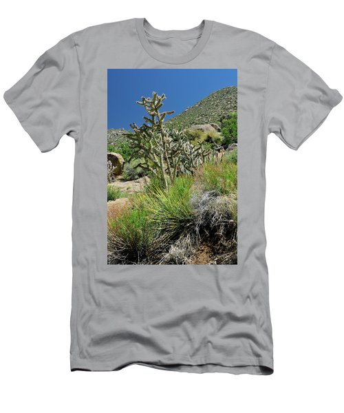 Men's T-Shirt (Athletic Fit) featuring the photograph Greening Of The High Desert by Ron Cline