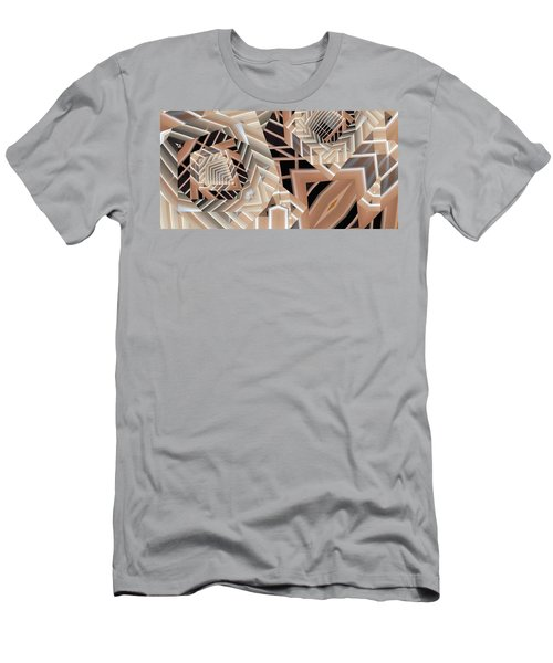 Men's T-Shirt (Slim Fit) featuring the digital art Grilled by Ron Bissett