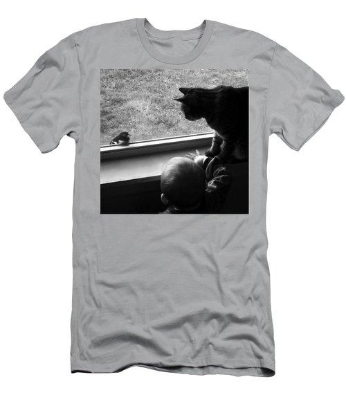 Group Chat Men's T-Shirt (Athletic Fit)