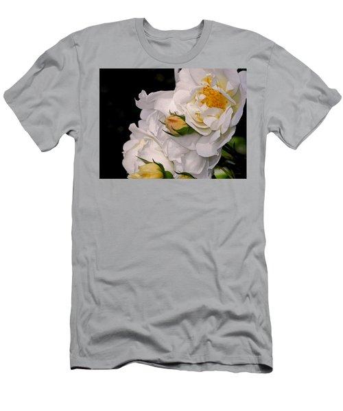Growing Like The Wind Men's T-Shirt (Slim Fit) by Lynda Lehmann