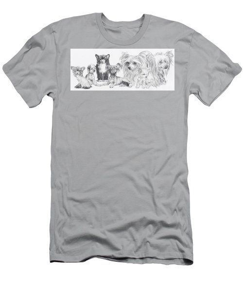 Growing Up Chinese Crested And Powderpuff Men's T-Shirt (Athletic Fit)