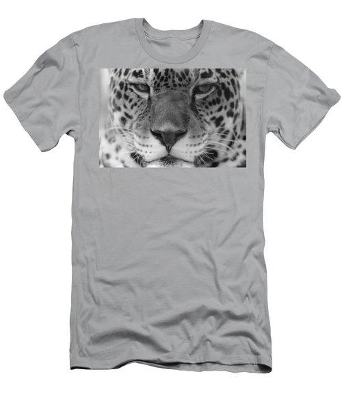 Grumpy Tiger  Men's T-Shirt (Athletic Fit)