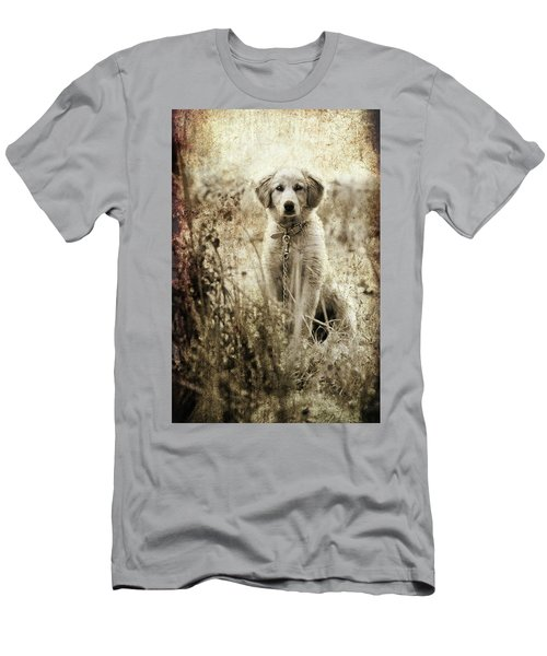 Grunge Puppy Men's T-Shirt (Athletic Fit)