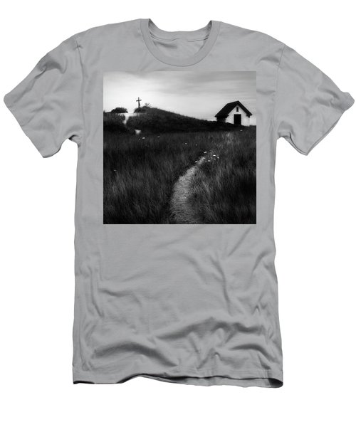 Men's T-Shirt (Slim Fit) featuring the photograph Guiding Light Square by Bill Wakeley