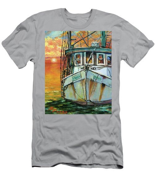 Gulf Coast Shrimper Men's T-Shirt (Athletic Fit)