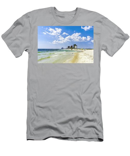 Gulf Shores Al Beach Seascape 1746a Men's T-Shirt (Athletic Fit)