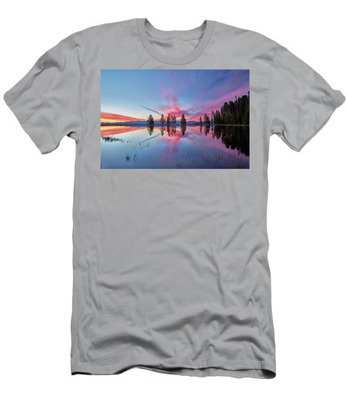 Gull Point At Sunrise Men's T-Shirt (Athletic Fit)
