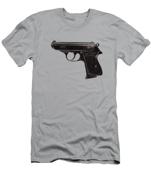 Gun - Pistol - Walther Ppk Men's T-Shirt (Athletic Fit)