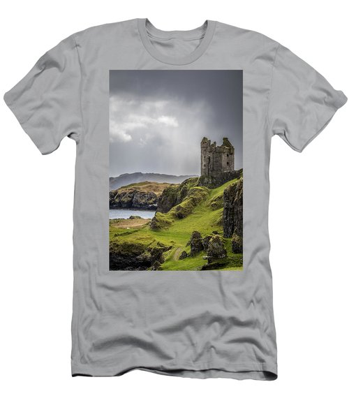 Gylen Castle On Kerrera In Scotland Men's T-Shirt (Athletic Fit)