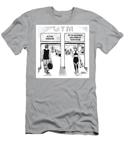 Gym Men's T-Shirt (Athletic Fit)