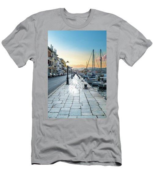 Gythion / Greece Men's T-Shirt (Slim Fit) by Stavros Argyropoulos