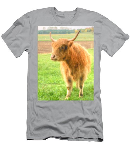 Hairy Coos Men's T-Shirt (Athletic Fit)