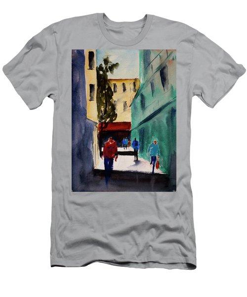 Hang Ah Alley1 Men's T-Shirt (Athletic Fit)